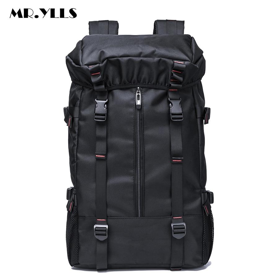 все цены на  MR.YLLS Brand Men Travel Backpack Waterproof Oxford Bag Backpacks Multifunctional Men High Capacity 15 17 Inch Laptop Bags  онлайн