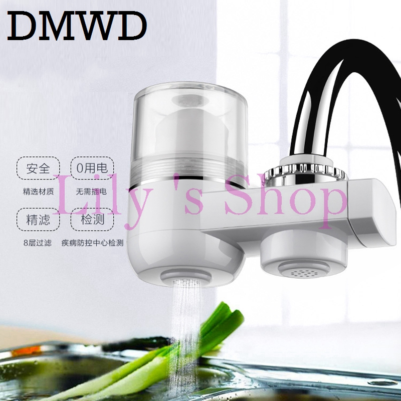 Household water purifiers kitchen faucet filter Tap water filter home washable Ceramic filter element MINI water purification kitchen faucets tap water filter household water purifier washable ceramic percolator mini water purification