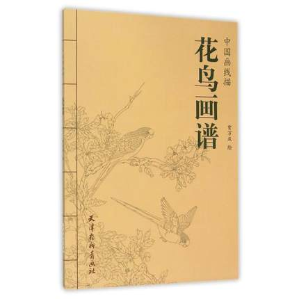 Flowers And Birds Painting Collection Art Book Coloring Book For Adults Relaxation And Anti-Stress Painting Book