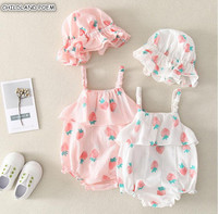4b1fe370e126a SR324 2018 Summer Children Overalls for Small Boys and Girls Cotton ...