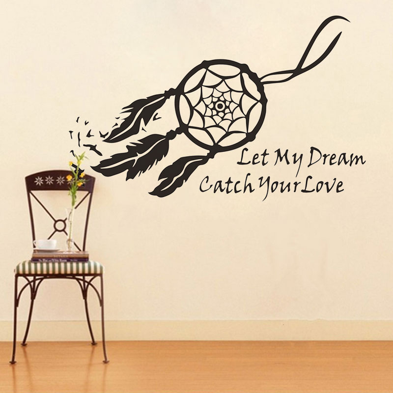 Eagle Head Feather Wall Sticker Decal Home Paper PVC Murals House Wallpaper Bedroom Kids Babies Living Room Art Picture Decoration