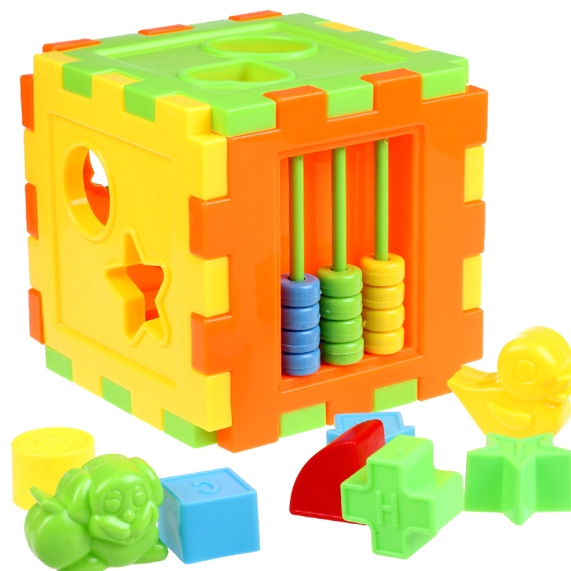Toddler Toys Puzzle : Aliexpress buy promotion plastic kids shape box