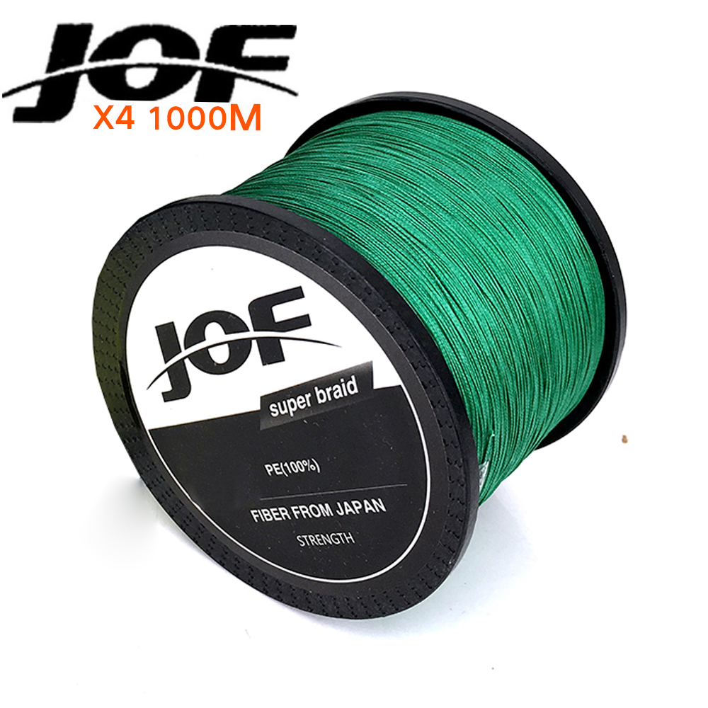 1000M Multifilament font b Fishing b font Line 100 PE Braided 4 threads fly font b