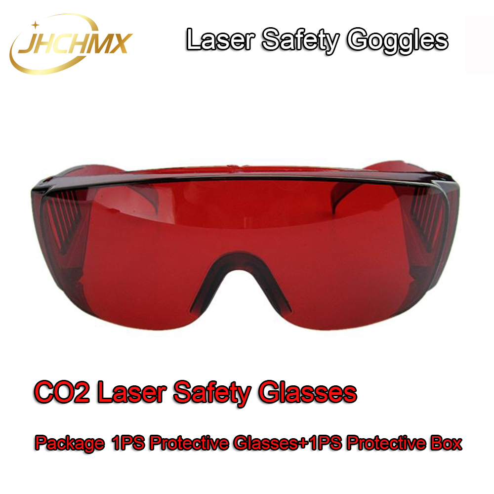 Free Shipping Laser Safety Goggles Shield Protection Laser Safety Glasses For CO2 Laser Cutting Engraving Machine