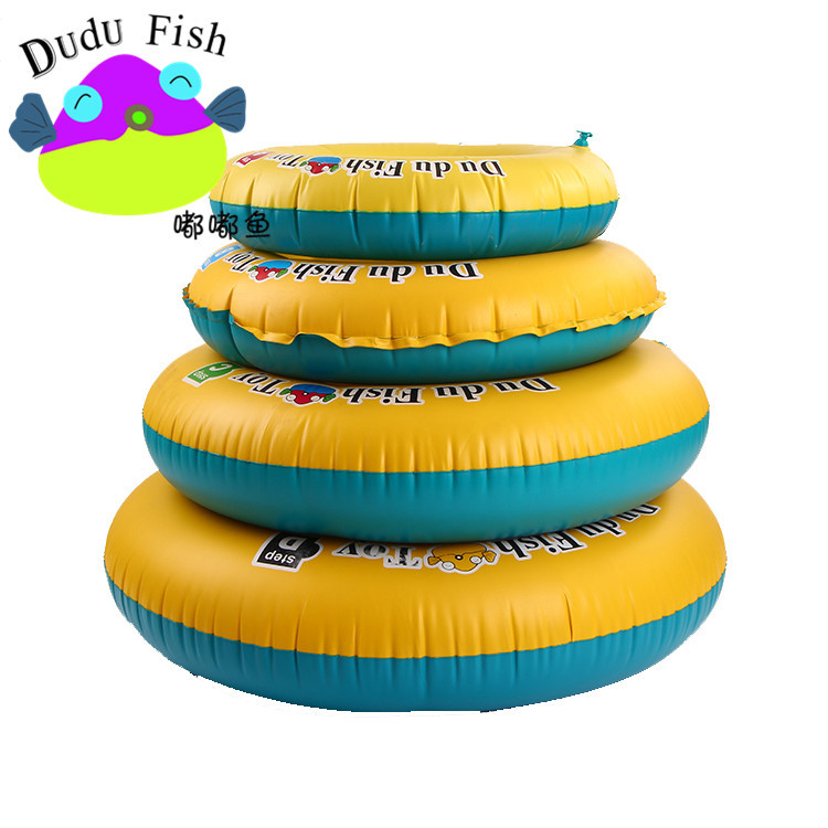 Inflatable Swimming Ring PVC Thickened Children's Swimming Ring ABC Learning Swimming Equipment Life Buoy