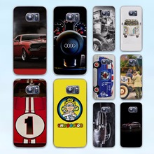 b771cb1ec8b9 awesome Super Cars red car tuned supra design hard transparent Case Cover  for Samsung Galaxy S8