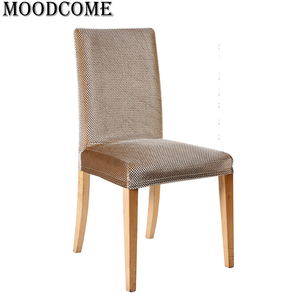 Sofa Und Stuhlhussen Us 9 06 8 Off Champagne Gold Chair Cover Couvre Chaise Stuhlhussen 2017 New Arrival Stretch Spandex Dinning Chairs Covers In Chair Cover From Home