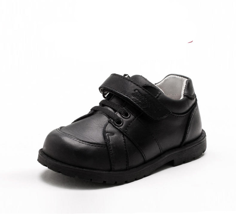 super quality 1 pair Fashion Children shoes Kid boy Genuine Leather arch support Orthopedic Leather Shoes