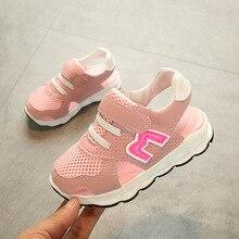 Europæiske unisex sommer mode sko til piger drenge sport åndbar cool M baby casual sneakers 5 stjerner M design baby sko