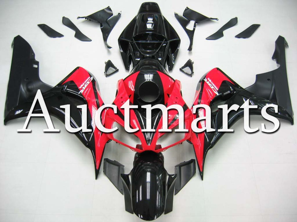 Fit for Honda CBR1000RR 2006 2007 CBR1000 RR ABS Plastic motorcycle Fairing Kit Bodywork CBR 1000RR 06 07 CBR 1000 RR EMS45 injection mold fairing for honda cbr1000rr cbr 1000 rr 2006 2007 cbr 1000rr 06 07 motorcycle fairings kit bodywork black paint