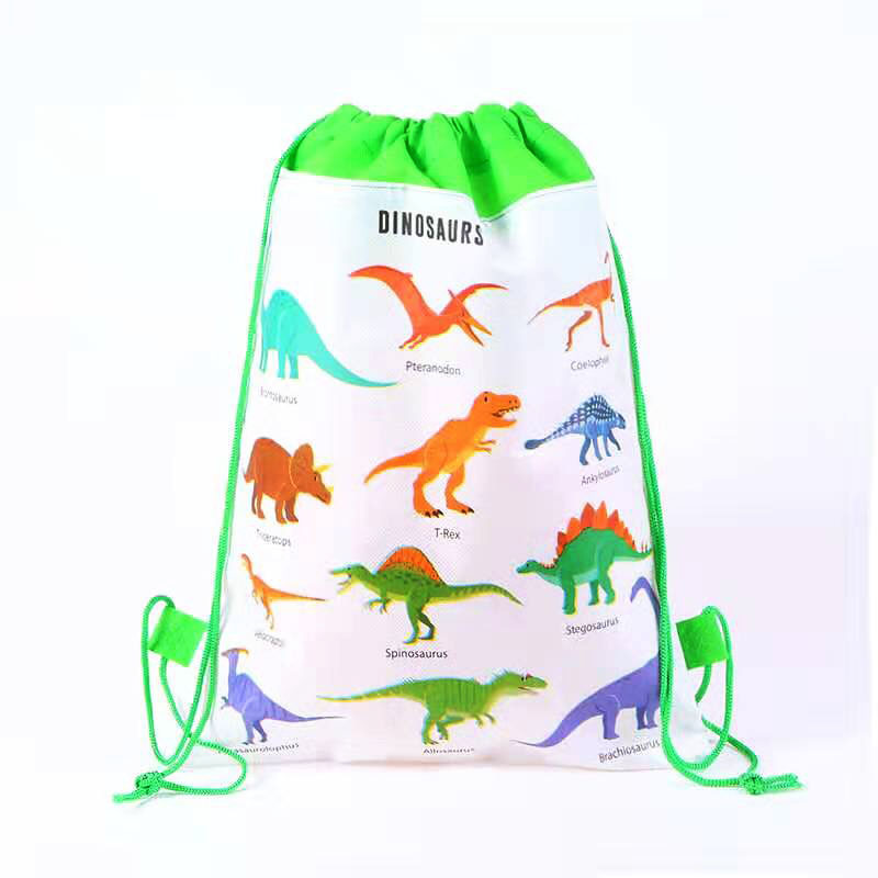 Dinosaur Unicorn Happy Birthday Party Decoration Gender Reveal Scool Bag Gifts Disposable Candy Bag Baby Shower Party