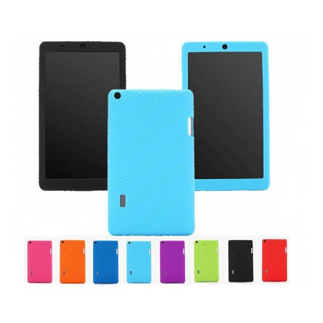 Caso suave para Huawei MediaPad T3 7 WiFi BG2-W09 versión Tablet cubierta de silicona proteger shell para Huawei T3 7,0 Tablet coque Funda