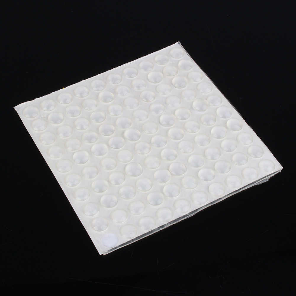 100 шт./компл. силиконовый коврик самоклеющиеся средства ухода за кожей стоп бамперы для автомобиля ясно полукруглые бамперы двери шкафа Ящики