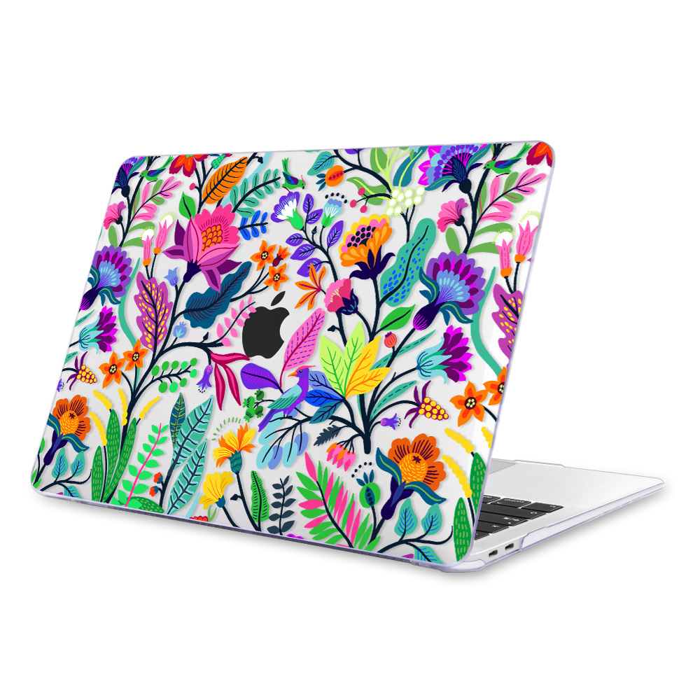 Redlai Colorful Flowers Case for MacBook 35