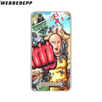 WEBBEDEPP Anime Bleach One Punch Man design Phone Case for Xiaomi Redmi 4X 4A 5A 5 Plus 6 Pro 6A S2 Note 5 6 Pro 4X Cover 1
