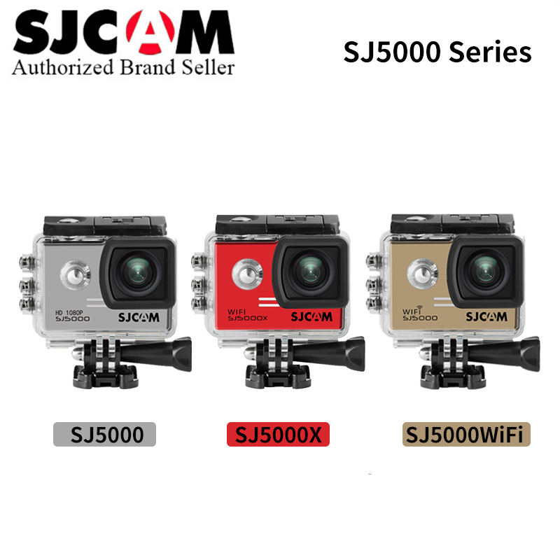 SJCAM SJ5000 Series sport wifi Action Camera SJ5000X 4K Elite &SJ5000 Wifi&SJ5000 Basic Mini Outdoor Sport Camcorder DV kamera original sjcam sj5000x elite wifi 4k action camera gyro ultra hd waterproof diving outdoor mini sport dv