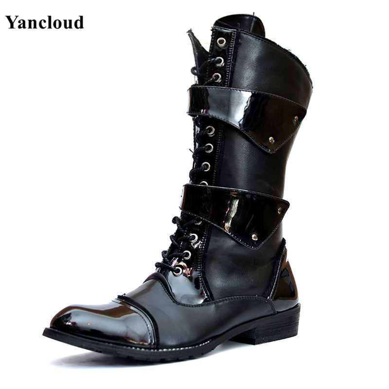 Popular Thick Soled Motorcycle Boots-Buy Cheap Thick Soled ...