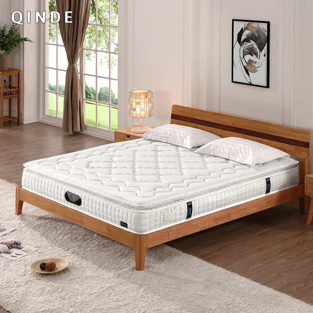 Sleep Well Royal Bedroom Furniture Sets Compress Roll Packing Pocket Spring  Latex Mattress Quality Production Long