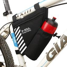 Shark Tiger Cycling Bag Waterproof Triangle Bag Mountain Bike Pouch Bike Frame Bag Outdoor Bicycle Front Tube Frame Handbag цена