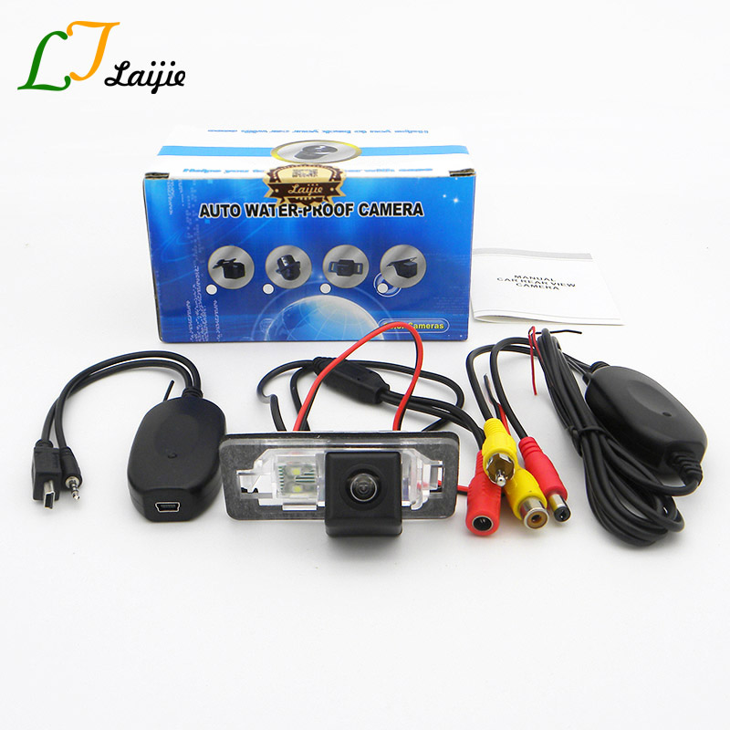 Laijie Auto Wireless Camera For MINI Cooper Hatch Cabrio R50 R52 R53 R56 R57 / CCD HD Car Rear View Reversing Parking Camera