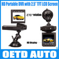 "Best Selling HD198 Car Camera 6 IR LED Car video recorder for night vision Car DVR with 2.5"" Screen 100 degree angle"