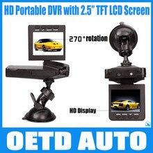 """Best Selling HD198 Cámara 6 IR LED Del Coche grabadora de vídeo Del Coche para la visión nocturna Del Coche DVR con 2.5 """"pantalla de ángulo de 100 grados"""
