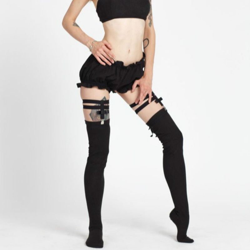 font b 2017 b font new goth garters for stocking sexy font b lingerie b