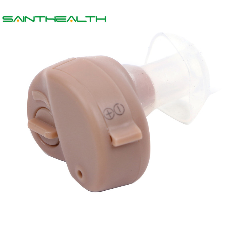 Hot Selling Hearing Aid Portable Small In The Ear Invisible Best Sound Amplifier Adjustable Tone Hearing Aids Ear Care Tools