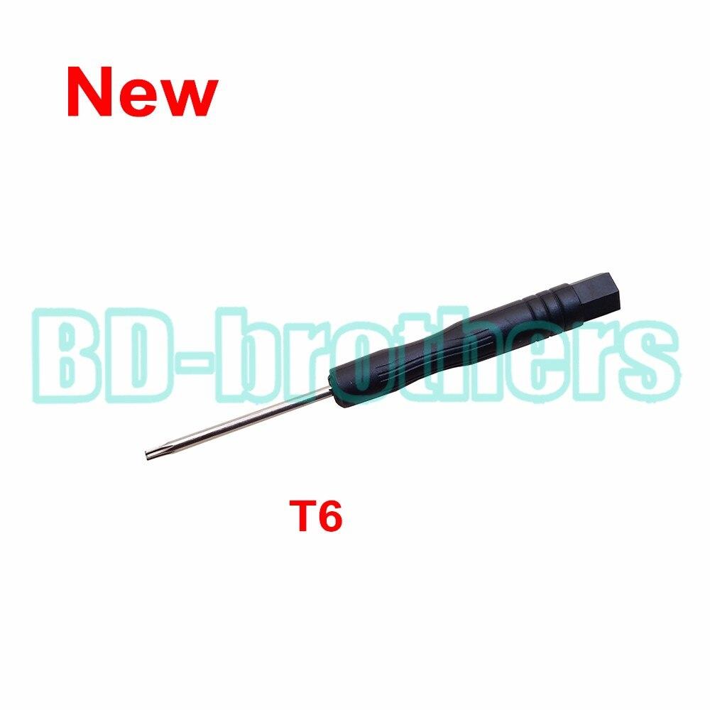New Arrived Black T6 Screwdriver Torx Screw Drivers Key Tool for Computer Hard Drive Samsung Nokia Moto Phone Repair 3000pcs/lot