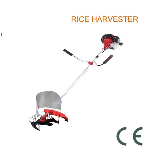 Grass Cutter 42.7cc 1.47kw Brush Cutter Grass Trimmer Lawn Mower Cropper Garden Tools Agricultural machine Rice Harvester side mount gx35 140fa bear brush cutter grass trimmer mower accessories stopper plate fenders