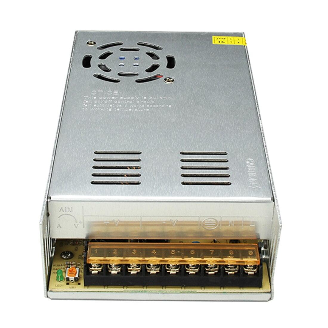 AC 110 220 В к DC 12 В 29A 350 Вт драйвер переключатель питания трансформатор для светодиодной полосы света