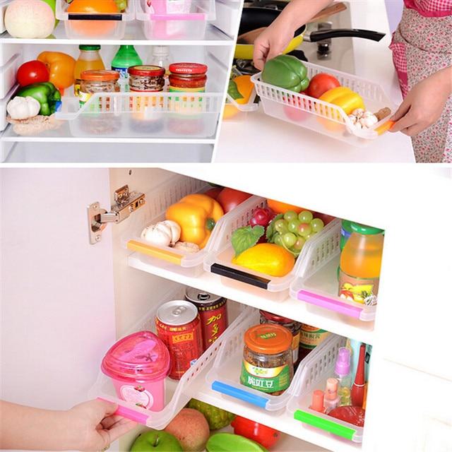 Hause Kuhlschrank Lebensmittel Und Getranke Kunststoff Ablagekorbe