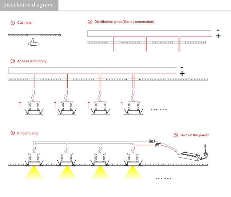Led Downlight Wiring Dolgularcom - How To Wire Downlights Diagram