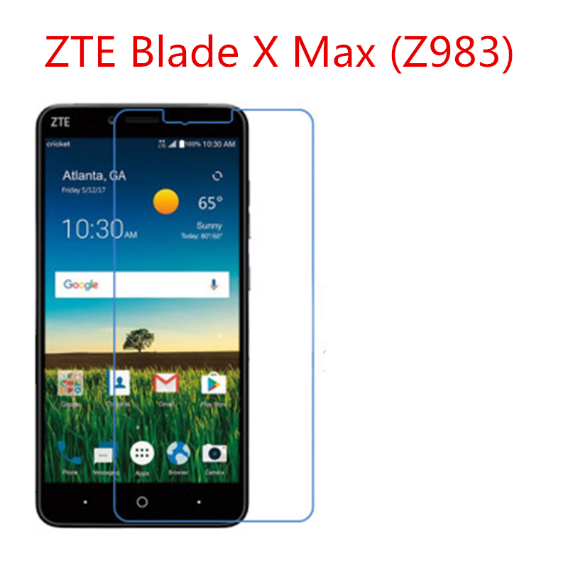 5 Pcs Ultra Thin Clear HD LCD Screen Guard Protector Film With Cleaning Cloth For ZTE Blade X Max (Z983).