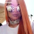 Новое Прибытие Мода Choker Ожерелья Для Женщин Горный Хрусталь Цветы Форма Ошейники Ожерелья Ювелирные Аксессуары Оптовая 8737