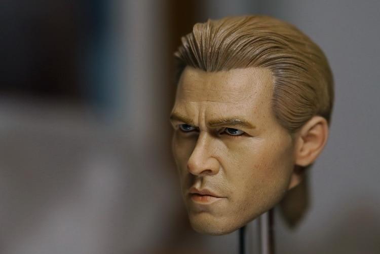 1/6 scale doll Accessory Heat Val Kilmer headsculpt male head shape for 12