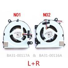 Nueva computadora portátil ventilador de refrigeración de la cpu para Samsung 700Z NP700Z7C S03US NP770Z7E 700Z7C 700Z7B KSB0705HA BK2V BK2W BA31 00127A