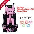 Bebé de coche de bebé asiento de bebé en el coche para niños 9 - 25 KG y 9 meses-5 años con buena calidad y el envío gratis