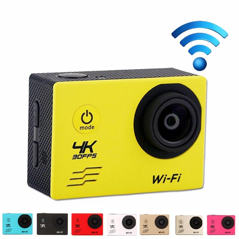 """2.0"""" Ultra HD Action Camera F60 Allwinner V3 Wifi 4K 30FPS Go Waterproof 30M Underwater Pro Camera 170D Sport Bike Helemt Cam"""