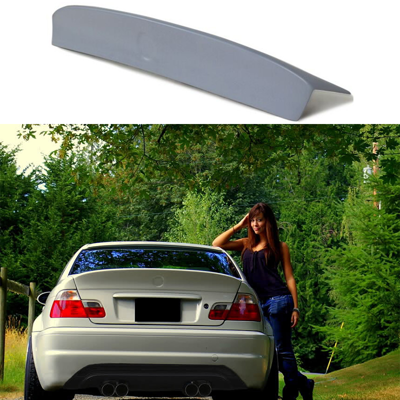 E46 Csl Style 2door Pu Material Rear Trunk Wing Spoiler For Bmw E46