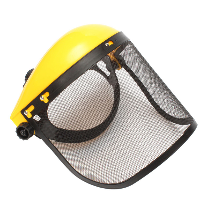 Good Sale Mesh Chainsaw Safety Helmet Hat Logging Brushcutter Forestry Visor Protection New Arrival chainsaw safety helmet w visor face protector hat eye protection free shipping outdoor brushcutter guard trimmer shield