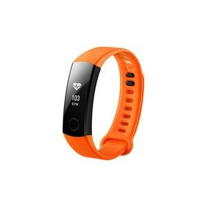 Image 4 - Оригинальный Смарт браслет Huawei Honor Band 3, в наличии, фитнес браслет с OLED экраном 0,91 дюйма и пульсометром, Push сообщение