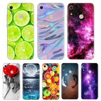 Case For Huawei Honor 8A Case Cover Silicone Case For Huawei Honor 8a Cover Flower Cartoon TPU Fundas For Honor 8A JAT-LX1 Capa honor 8a case for huawei honor 8a case silicone tpu cute back cover phone case on huawei honor 8a jat lx1 8 a honor8a case soft