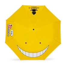 Japanese Anime Folding umbrellas Assassination Classroom/One Piece/Naruto/Totoro/miku Umbrellas