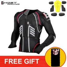 GHOST RACING Motorcycle Jacket Racing Protective Motocross OFF Road Gear Safety Body Armor Moto Jacket MTB Protection Clothing цена и фото