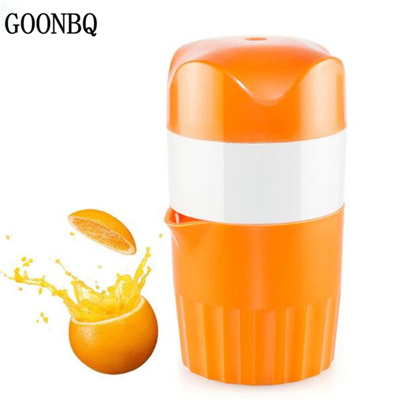 goonbq 1 pc orange juicer plastic hand manual orange lemon. Black Bedroom Furniture Sets. Home Design Ideas
