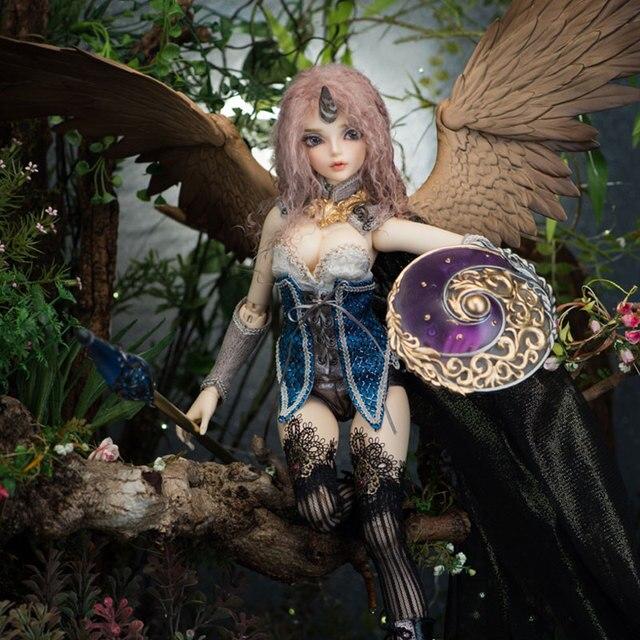 Fairyline Sircca 1/4 bjd sd dolls model reborn girls boys eyes High Quality