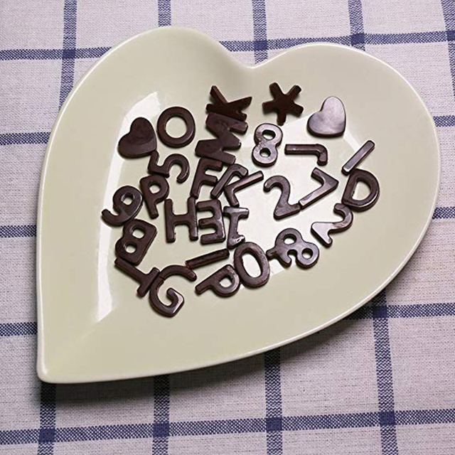 26 Alphabet Letters Silicone Mold