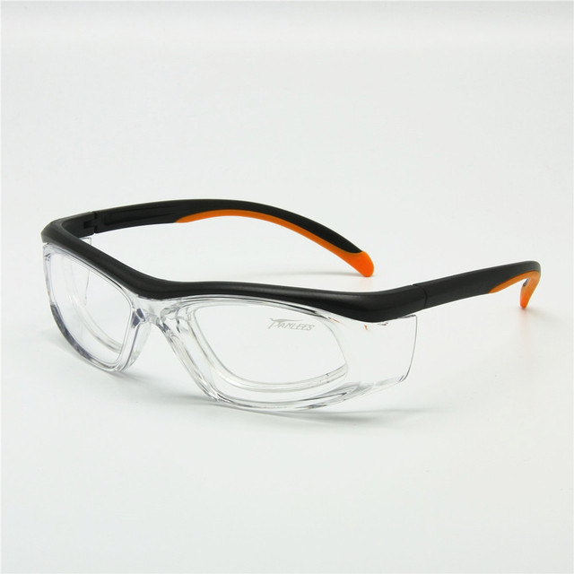 3aab23a129 Sports Glasses with Detachable Rx Insert Safety Goggles Anti-Dust  Anti-Static Lab Medical Use Working Eyewear