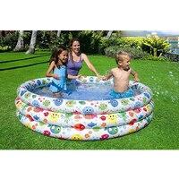 Gran tamaño 168*40cm Piscina de agua inflable niños Piscina Bebe Zwembad chico patio de juegos